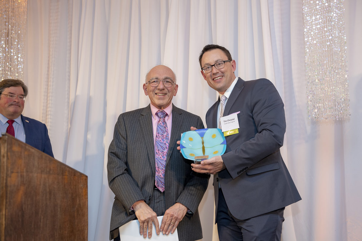 2019 Difference Maker Peter Gagliardi and Tim Chrystal, Health New England.