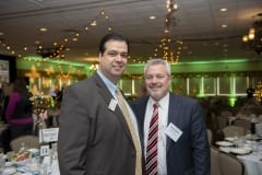 Victor Rodriguez, PeoplesBank; and Glenn Welch, Freedom Credit Union.