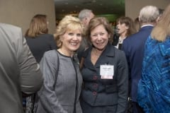 Jane Albert, Baystate Health; and 2017 Difference Maker Joan Kagan, Square One.
