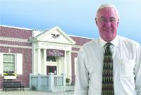 Monson Savings Bank President Roland Desrochers