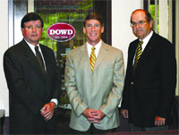 The principals at the Dowd Group, from left, Bob Gilbert, John Dowd, and David Griffin.