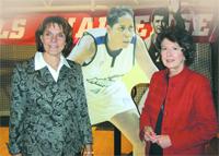 Gail Sherman and Doris Ransford