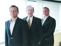 From left, Greg Caldicott, Tom Murphy, and Bill Zierolf, the new leadership team at EstateWorks.