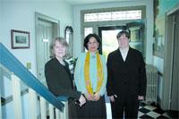 Joan Stoia, Shahrzad Moshiri, and Deborah Robes