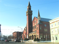 The conversion of the old town hall into CitySpace is one of many arts-focused initiatives in Easthampton.