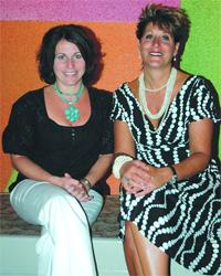 Tina D'Agostino and Cindy Anzalotti