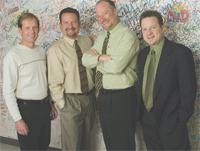 Dan, Chris, Larry, and Marc Grenier of Grynn & Barrett Studios