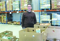 Food Bank Director Andrew Morehouse