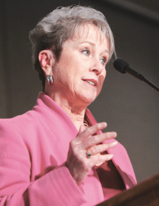 Mary Ellen Scott, president of United Personnel