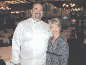 Joe Stevens, with his wife, Liz