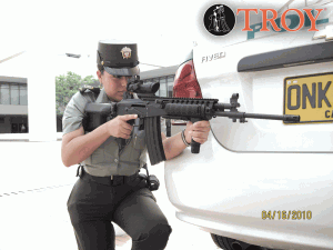 Law enforcement is another market in which Troy Industries is looking for greater market share.