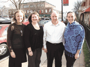 From left, Suzanne Beck, Lynn Kennedy, Rich Horton, and Kate Glynn.