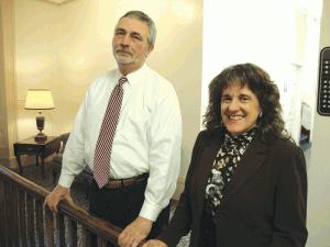 Stephen Keller and  Deborah Koch.