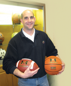 Dan Touhey, a partner in psi 91, which develops and distributes inflatable products for Under Armor