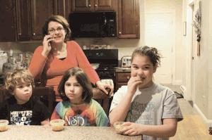 Kelly Tobin loves her job and her three children