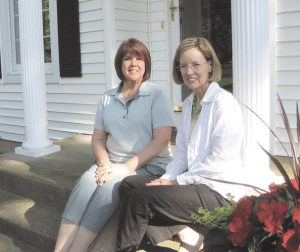 Eileen Jerome, left, and Susan Kelley