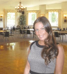 Rachel Voci, banquet manager at Tekoa Country Club