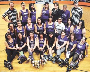 The Pair O Dice City Rollers