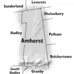 Amherst map