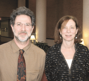 Paula Zimmer and Harris Freeman