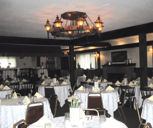 The Whately Inn's historic dining room