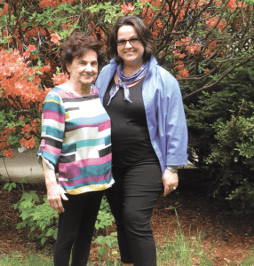 Mary-Anne DiBlasio, right, says developing a strong sense of community is a key to growing a successful facility.