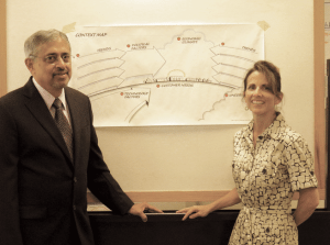 Ravi Kulkarni and Lynn Whitney Turner