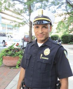 Rupert Daniel, now a Springfield Police lieutenant