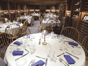 The wine-cellar room