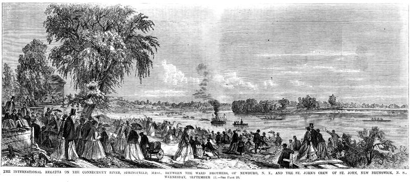 'International Regatta' in 1867.