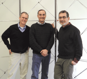 From left, Jef Sharp, Jeff Hausthor, and Henry Lederman