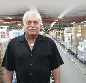 Jeff Polep, president of J. Polep Distribution Services
