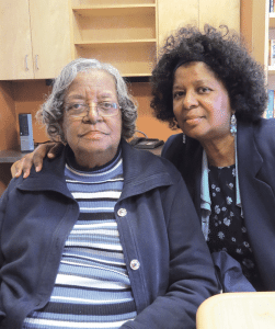 Pam White and her mother, Helese