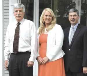 Glenn Allan, Anna Holhut, and Dean Paddock