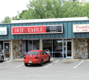 The original Hot Table location