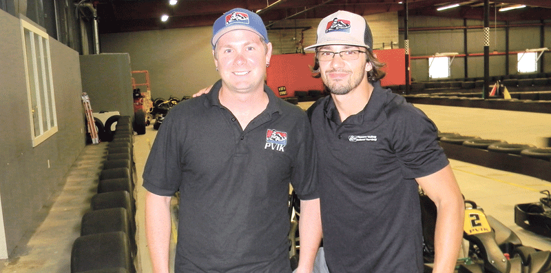 PVIK owner Ryan Bouvier, left, pictured with manager Wilder Gulmi-Landy