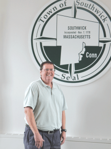 Russell Fox says residents' willingness to help the town makes Southwick an attractive place to live and work.