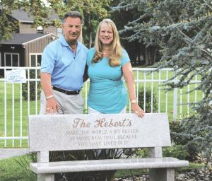 Ted and Barbara Hebert