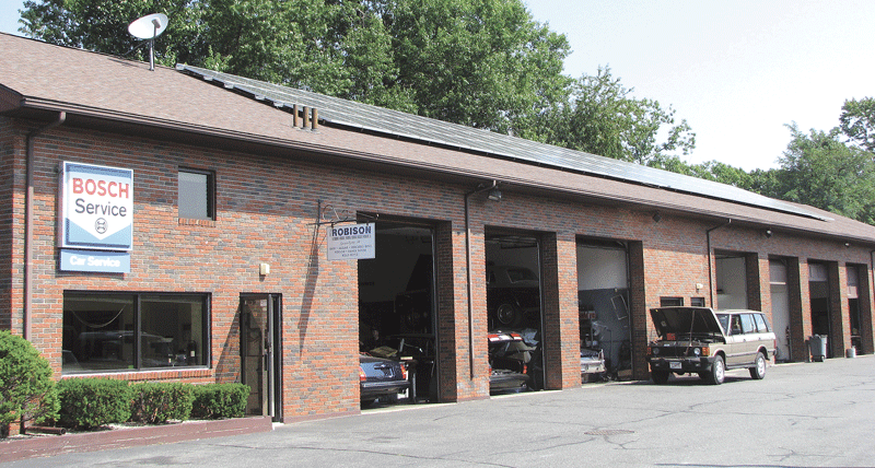 John Robison's sprawling car-restoration complex