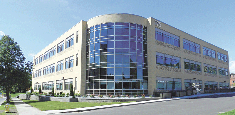 The new building that houses several SPHS services, including physicians formerly affiliated with HCPA.