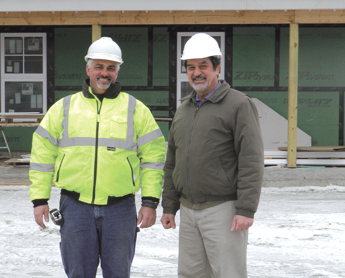 Fred Snyder, left, and Eric Forish