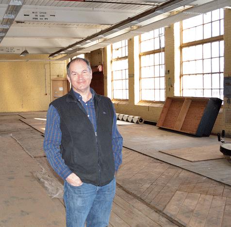 Eastworks owner Will Bundy