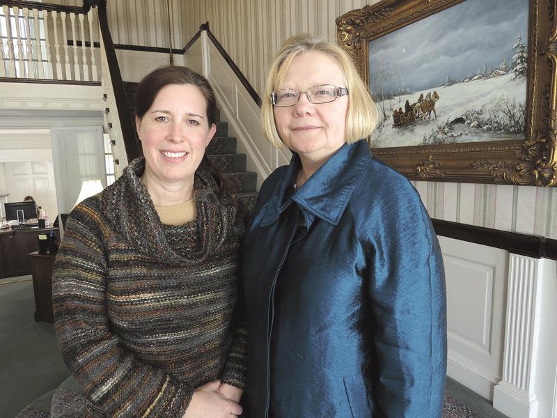 Jill Bodnar, left, and Melissa Morris-Olson