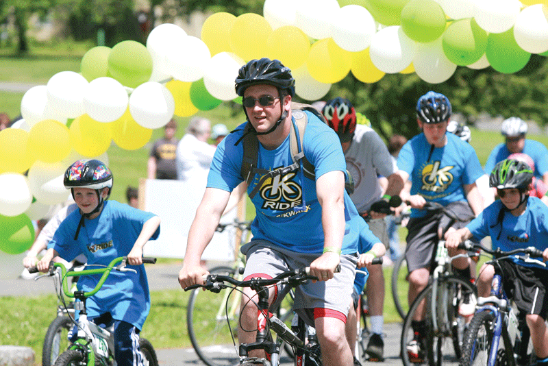Katelynn's ride participants describe it as a family event packed with fun, purpose, and poignancy. Photo courtesy of  Driscoll Photography