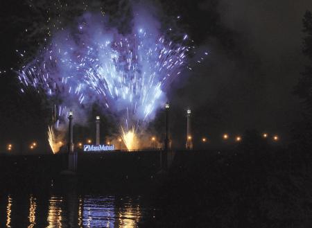 Springfield's fireworks