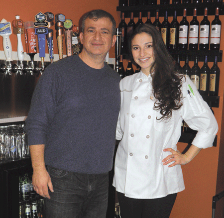 Nabil Hannoush, seen here with his daughter, Monica