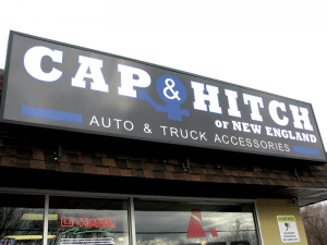 caps and trailer hitches.