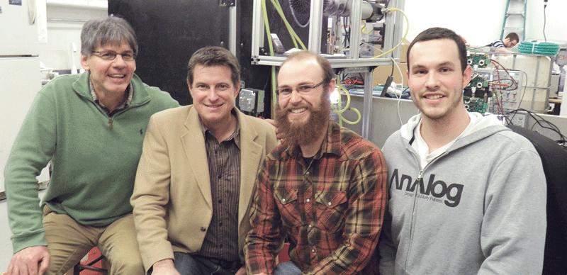 From left, Bart Lipkens, Stanley Kowalski, Brian McCarthy, and Matthew Wilander