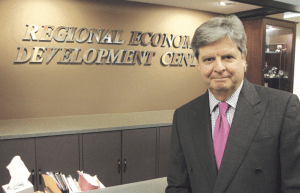 Allan Blair, who led the EDC from its inception in 1996