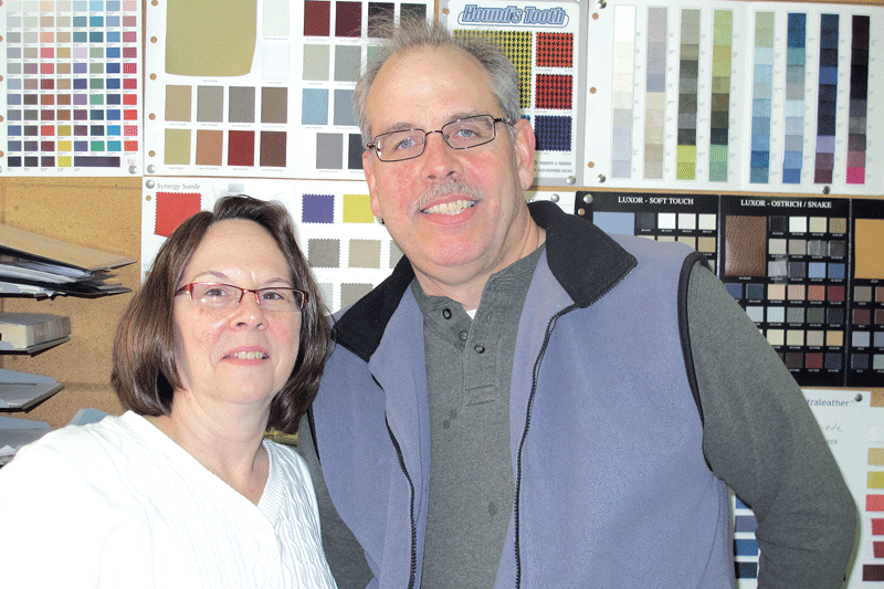 Jerry Zalucki, seen here with his wife, Suzanne